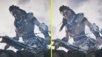 Horizon Zero Dawn - Сравнение графики с ПК и PS4 Pro