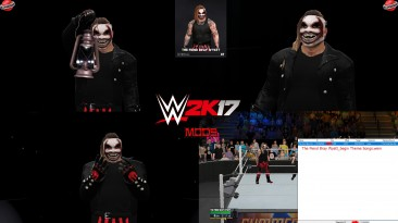 """WWE 2K17 """"The Fiend Bray Wyatt V6 WWE 2K19 Port MOD"""""""