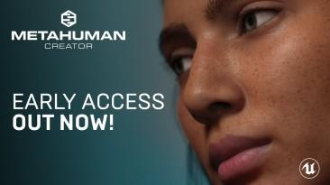 Технология MetaHuman Creator для Unreal Engine стала доступна в раннем доступе
