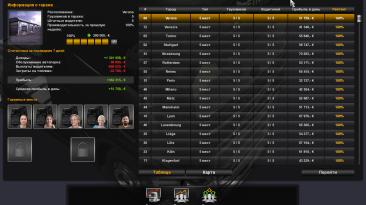 Euro Truck Simulator 2: Сохранение/SaveGame (100% карта, все гаражи, $540 миллионов)
