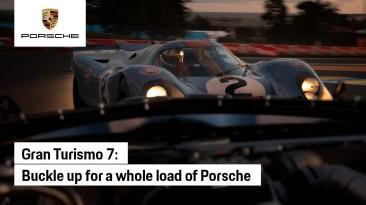 Автопроизводитель Porsche опубликовал рекламный ролик Gran Turismo 7