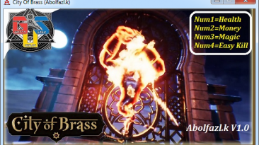 City of Brass: Трейнер/Trainer (+3) [1.0] {Abolfazl.k}