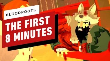 Первые 8 минут кровавого экшена Bloodroots