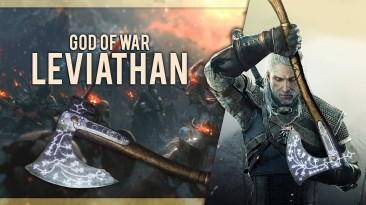"""Witcher 3 """"Левиафан из God of War"""""""