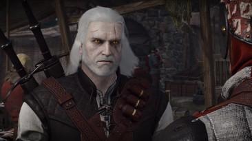 "Witcher 3 ""Реалистичные волосы и борода"""
