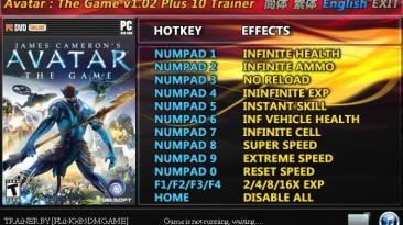James Cameron's Avatar - The Game: Трейнер/Trainer (+10) [1.02] {FLiNG}