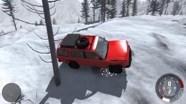 BEAM NG Drive - в горы off road бездорожье!!!!