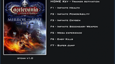 Castlevania: Lords of Shadow ~ Mirror of Fate: Трейнер/Trainer (+7) [1.0] {LinGon}