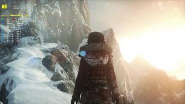 FX 8300 и GTX 1060 в игре Rise of the Tomb Raider