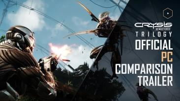 Сравнительный трейлер PC-версии Crysis Remastered Trilogy