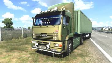 """Euro Truck Simulator 2 """"КамаЗ 5460-63 (2009)"""""""