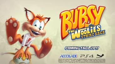 Издательство Accolade анонсировало новую игру про рысь Bubsy из нашего детства