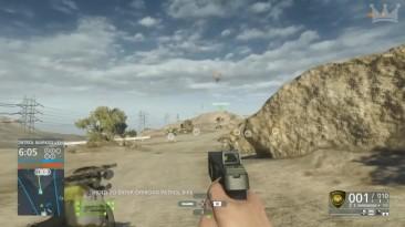 "Battlefield Hardline ""Сетевой геймплей - Dirtbike takes down Heli! """