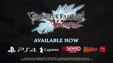 Состоялся европейский релиз файтинга Granblue Fantasy: Versus, представлен новый трейлер