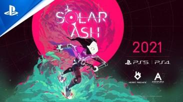 Сюрреалистическая Solar Ash от авторов Hyper Light Drifter выйдет в 2021 году