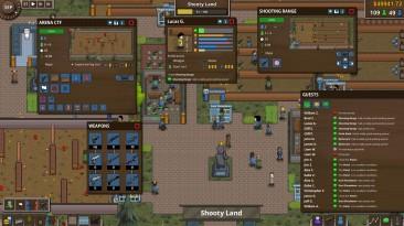 Battle Royale Tycoon позволяет строить и чистить арены для Королевской битвы
