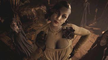 "Resident Evil: Village ""Леди Димитреску без шляпы"""