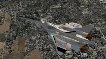 "Microsoft Flight Simulator 2004 ""F.A.F. FFR-31MR/D Super Sylph"""
