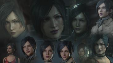 "Resident Evil 2 ""Лицо Ады Вонг из Resident Evil 4"""