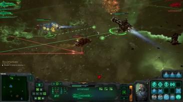 """Battlefleet Gothic Armada """"прохождение на русском Защита Эльдар Глава 4 - Ч4 обзор"""""""