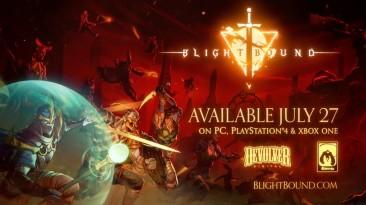 Новый трейлер и точная дата выхода Blightbound для ПК и консолей