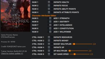 SpellForce 3 - Fallen God: Трейнер/Trainer (+15) [1.0 - rev.80368] {FLiNG}