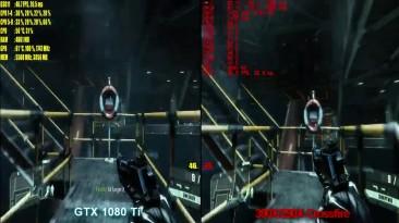 GTX 1080 Ti сравниваем производительность в Crysis 3 4K. 390X-290Х Crossfire