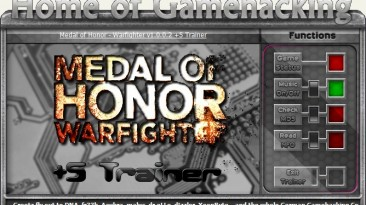 Medal of Honor - Warfighter: Трейнер/Trainer (+5) [1.0] {HoG/sILeNt heLLsCrEAm}