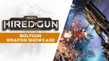 Новый трейлер Necromunda: Hired Gun демонстрирующий Болтган