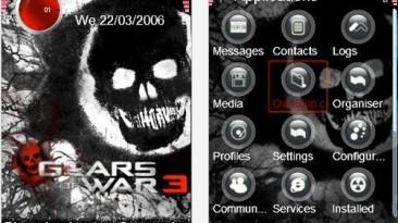 "Gears of War 3 ""Nokia 240x320 theme"""