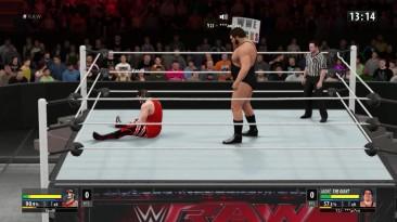 WWE 2K16 Россия VS Украина - IRON MAN Match