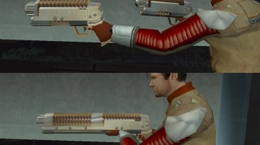 """Star Wars: Knights of the Old Republic """"Bryar pistol and rifle"""""""