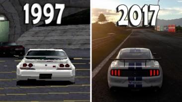 Эволюция Gran Turismo 1997-2017