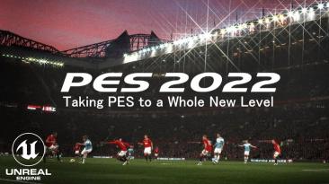 Первые геймплейные кадры Pro Evolution Soccer 2022 на движке Unreal Engine 4