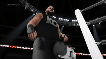 WWE2K15 Брок Леснар и Кевин Оувенс в игре!