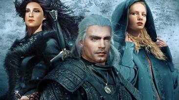 "Witcher 3 ""Генри Кавилл и Аня Чалотра"""