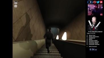 Hitman: Silent Assassin: Скоростное прохождение (Бессшумный Убийца) HARD [53:26]