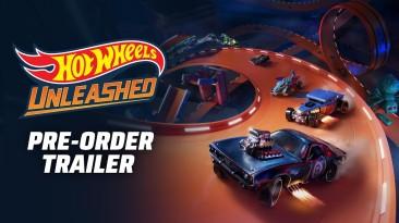 Трейлер предзаказа Hot Wheels Unleashed