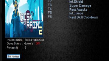 Risk Of Rain 2: Трейнер/Trainer (+6) [Build 3930144] {MrAntiFun}
