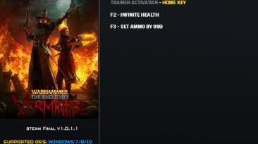 Warhammer: End Times — Vermintide: Трейнер/Trainer (+2) [1.0.1.1] {LinGon}