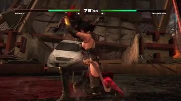 """Dead or Alive 5: Last Round """"Геймплей от GameSpot"""""""