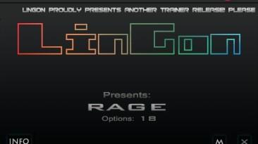 Rage: Трейнер/Trainer (+18) [1.2/Update 2: STEAM] {LinGon}