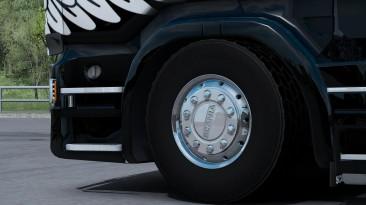 "Euro Truck Simulator 2 ""50Keda Tires Reworked версия 1.0 (v1.34.x)"""