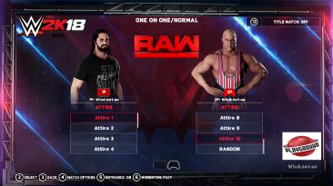 "WWE 2K18 "" 10 Attire MOD"""