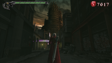 "Devil May Cry 3: Dante's Awakening ""улучшение графики"""
