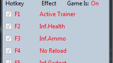 Call of Duty ~ Ghosts: Трейнер/Trainer (+8) [3.12] {MrAntiFun}