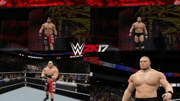 "WWE 2K17 ""Brock Lesnar + 2 Наряда WWE 2K19 Порт Мод"""