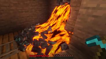 Фанат Minecraft делает потрясающие 3D компиляции поверх геймплея игры с реалистичной физикой