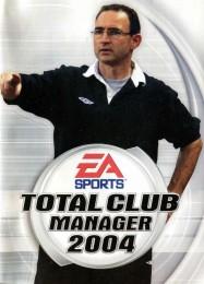 Обложка игры Total Club Manager 2004