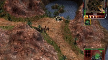 "Command & Conquer 3: Tiberium Wars ""Карта - Pooled Resources"""